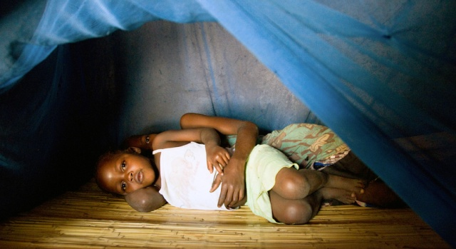 Jamal Protects his Children and Grandchildren with Mosquito Nets